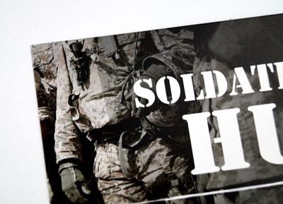 Visitkort til Soldatens Hus
