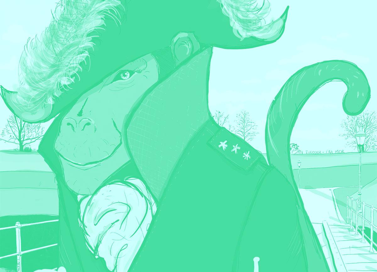 Udsnit af General Admiral Abe